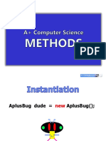 Methods Graphics Slides Java Aplus