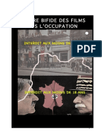 CENSURE BIFIDE DES FILMS SOUS L'OCCUPATION