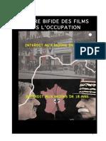 CENSURE BIFIDE DES FILMS SOUS L'OCCUPATION