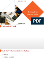 PPT Video Job Analysis 14-9-2017 Updated