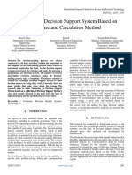 Taxonomy of Decision Support System Based on Software and Calculation Method