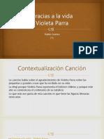 Análisis Canción Violeta Parra