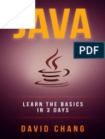 Java Learn Java in 3 Days! (David Chang - Programming )
