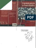 BATALHA, Claudio. O movimento operário na Primeira República.pdf