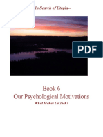 Our Psychological Motivations