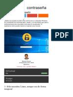 Cómo Acceder a Tus Archivos de Windows Sin Contraseña