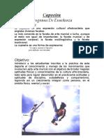 Programa de Capoeira