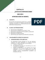 CAPITULO II Procedimientos en Intervenciones Policiales