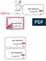 Membretes Amy