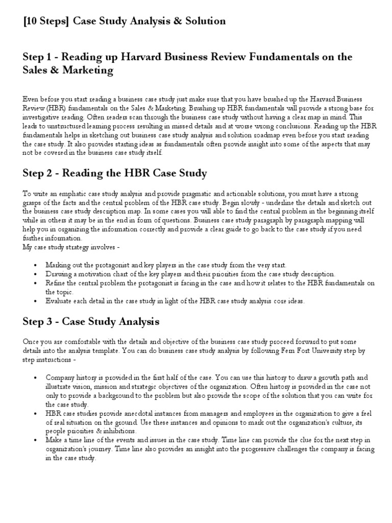 10 steps case study analysis solution swot analysis strategic 10 steps case study analysis solution swot analysis strategic management flashek Image collections