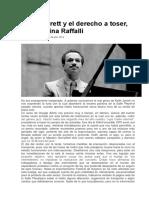 Keith Jarrett y El Derecho a Toser