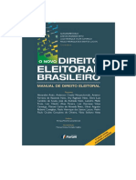 O Novo Direito Eleitoral Brasileiro - Manual de Direito Eleitoral - 2ª Edição