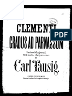 [Spartito Metodo Pianoforte] Clementi - Gradus ad Parnassum (Tausig).pdf
