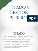 Estado y Gestion Publica