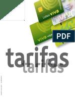 Lisboa Viva - Tarifas