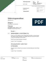 Polis Daniel Larsson 19680213 Uppsala B 3851-15 Stämning Barnmisshandel