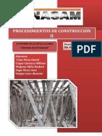 Informe 2 de Procedimientos de construcción II