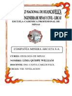 Compañia Minera Arcata S.docx