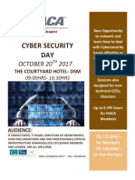 CYBER SECURITY DAY AT COURTYARD HOTEL IN DAR ES SALAAM OCTOBER 20, 2017