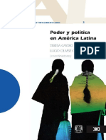 Coord. Teresa Castro Escudero y Lucio Oliver Costilla El Debate Latinoamericano Vol. 3 Poder y Politica en America Latina