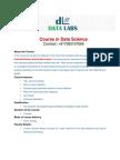 Data Science Course Brochure
