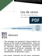 Presentacion - Ley de senos.pdf