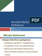 Micosis Profundas o Sistemicas