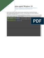 Merubah Linuxmint Tampilan Seperti Windows 10