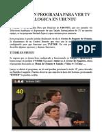 Manual para Ver Tv Analogica en Ubuntu con TvTime