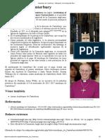 Arzobispo de Canterbury - Wikipedia, La Enciclopedia Libre