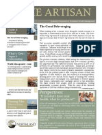 The Artisan - Northland Wealth Management - Winter 2012