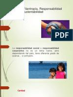 Filantropía, Responsabilidad-1
