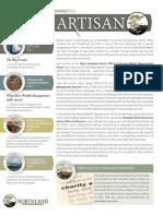 The Artisan - Northland Wealth Management - Autumn 2013