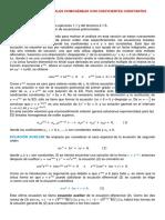 Secc. 4.3, Ecuaciones Lineales Homogeneas Con Coeficientes Constantes