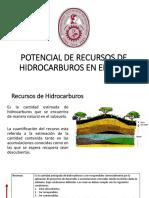 Potencial de Hidrocarburos en El Peru