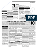 Claremont COURIER Classifieds 9-29-17