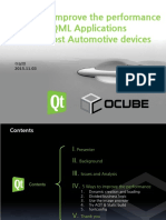 1 4. 5 Ways to Improve the Performance of QML Applications on Low Cost Automotive Devices Ocube 2015 11 v3