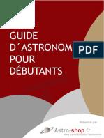 Astro Shop.fr Guide Dastronomie Pour Debutants