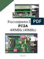 1 Frecventmetre FC2A 40MHz 400MHz