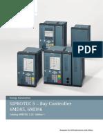 _06 Catalog SIPROTEC 5_03 Bay Controller