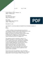 Official NASA Communication 01-148