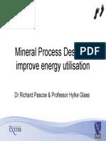 Minerals Process Design