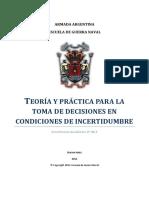 Teoria y Practica Pra La Toma de Decisiones en Incertidumbre