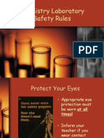 chemistry laboratory safety rules.ppt