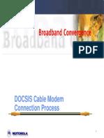 DOCSIS Cable Modem Connection Process