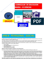 Programa Curricular de Primaria 3 Grado