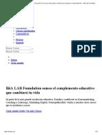 BiiA Lab Foundation . Mejorando La Educación Con Cursos Online Gratis y Premium Para Negocios y Emprendimiento