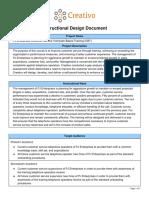 creativo and pj enterprises instructional design document