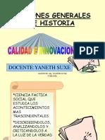 Nociones Generales de Historia