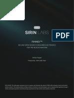 Sirinlabs - Ico White Paper